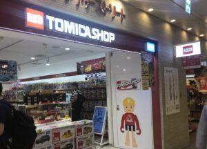 東京キャラクターストリートのトミカショップ