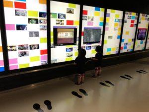 NHKスタジオパーク メディアウォール