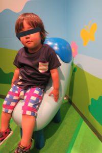 NHKスタジオパーク みいつけたの椅子
