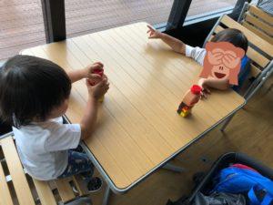 荻窪タウンセブン「あおぞらぱーく」 休憩スペース