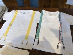 でんしゃのずかん×グラニフのデザインTシャツ