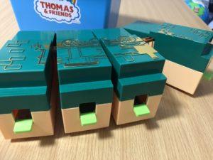 【プラレール】きかんしゃトーマスの「たためるトーマス機関庫」