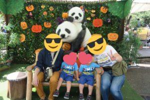 【2019年】上野動物園に2歳の双子連れで遊びに行ってきました | パンダの記念撮影