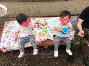 井の頭自然文化園に双子連れで行ってきました