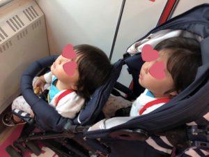 双子ベビーカーのkinderwagon DUOシティHOP | キンダーワゴン デュオシティホップ | 使ってみた感想と口コミ