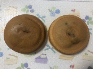 京銘菓の「阿闍梨餅」と中村屋の「もっちりあずき」の比較