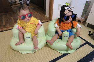 腰座り~2歳ごろまで「リッチェルのふかふかベビーチェア」