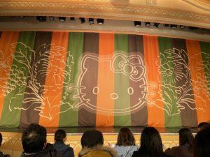 3歳児双子とサンリオピューロランドに行ってきたよ!KAWAII KABUKI ~ハローキティ一座の桃太郎~