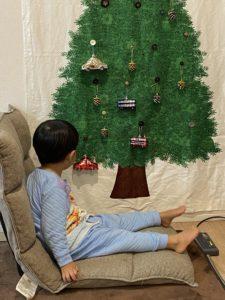 【賃貸マンションOK】クリスマスツリータペストリーがおすすめ【大人も子供も】