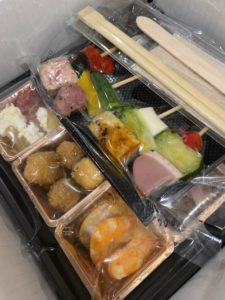 【新型コロナウイルス】nonpi foodboxを利用してオンライン忘年会をしました