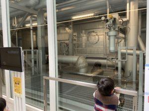 武蔵野クリーンセンターでいつでもゴミ処理施設見学