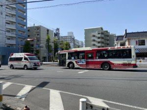 新宿~三鷹間で活躍している関東バス