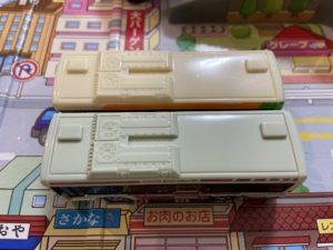 関東バスのオリジナルトミカのベース いすゞエルガ 都営バス