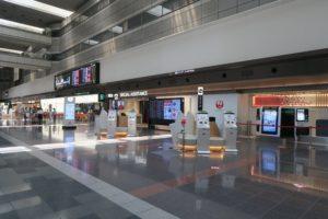 飛行機を見るため羽田空港第一ターミナルへ