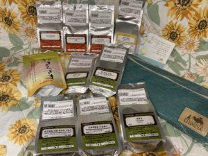 【開封レビュー】LUPICIAお茶の福袋 2021夏   竹のバラエティー 紅茶・緑茶・烏龍茶(ノンフレーバード)