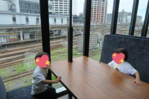 ロマンスカーミュージアムのカフェ