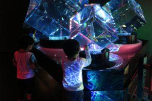 4歳の子供とアートアクアリウム美術館